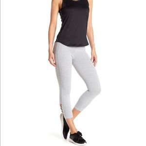 Bebe lace up sports leggings BRAND NEW